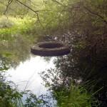 Eine Einrichtung, um den Wasserstand im Kraehnmoor zu regulieren